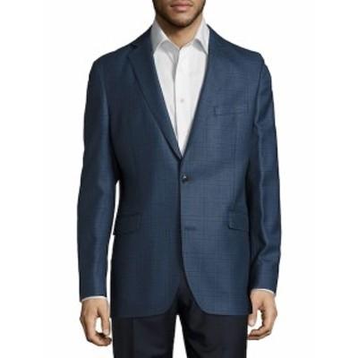 サックスフィフスアベニュー Men Clothing Wool & Silk Blend Jacket