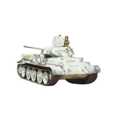 タミヤ 1/35 ミリタリーミニチュアシリーズ No.49 ソビエト T34/76 戦車 19