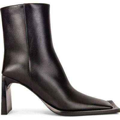 バレンシアガ Balenciaga レディース ブーツ ブーティー シューズ・靴 flat booties Black