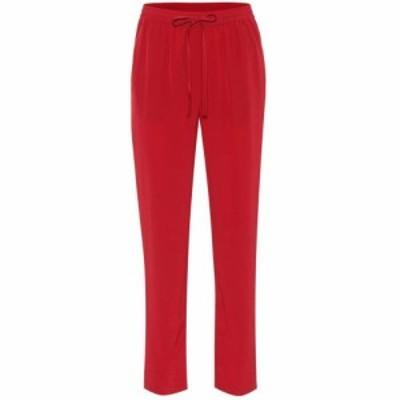 レッド ヴァレンティノ REDValentino レディース ボトムス・パンツ Silk pants Cherry