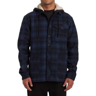 ビラボン Billabong メンズ シャツ トップス Furnace Bonded Flannel Navy