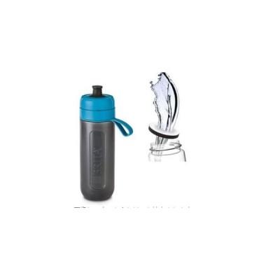 ブリタ 水筒 直飲み 600ml 携帯用 浄水器 ボトル カートリッジ 1個付き フィル ゴー アクティブ ブルー 日本仕様 日本正規品 送料無料