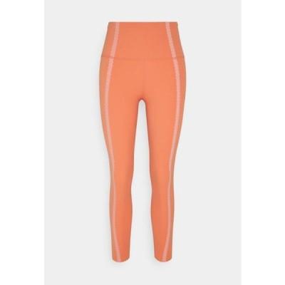 ナイキ レディース スポーツ用品 LUXE EYLET 7/8 - Leggings - healing orange/apricot agate