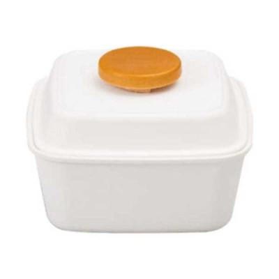 弁当箱関連 Piatto ピアット スクエアピアットランチボックス 650ml マットホワイト 46772485