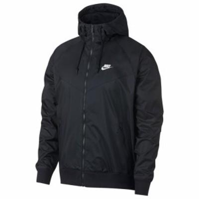 ナイキ Nike メンズ ジャケット アウター Windrunner Hooded Jacket Black/Black/Sail