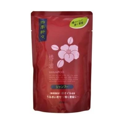 【熊野油脂】四季折々 椿油シャンプー つめかえ用 450ml【保湿】【椿油】