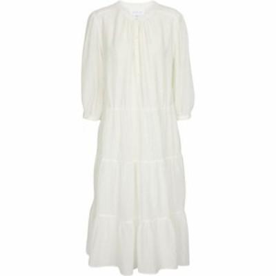 ベルベット グラハムandスペンサー Velvet レディース ワンピース ミドル丈 ワンピース・ドレス Jaqueline cotton and silk midi dress E