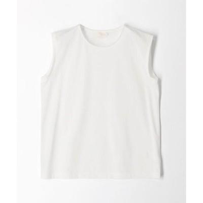 tシャツ Tシャツ コットンポリエステルプレーティング ノースリーブプルオーバー