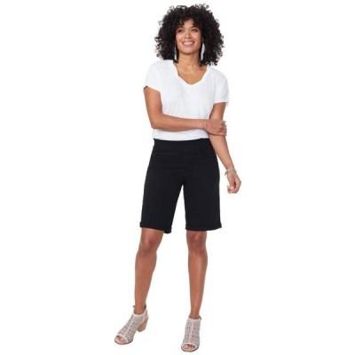 ユニセックス ハーフパンツ 9 Pull-On Shorts with Roll Cuffs