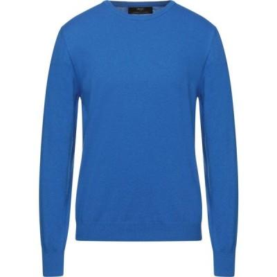 リウジョー LIU JO MAN メンズ ニット・セーター トップス Sweater Bright blue