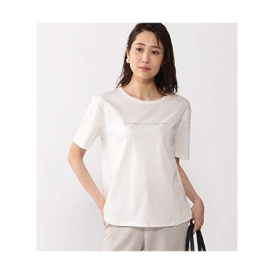エーシーバイアルファキュービック ゆるロゴTシャツ レディス351154 レディース オフ 日本 L (日本サイズL相当)