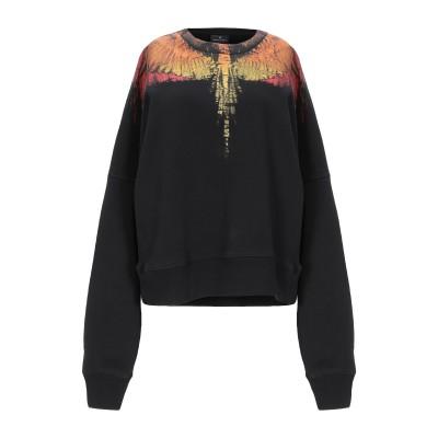 マルセロ ブロン MARCELO BURLON スウェットシャツ ブラック XXS コットン 100% スウェットシャツ