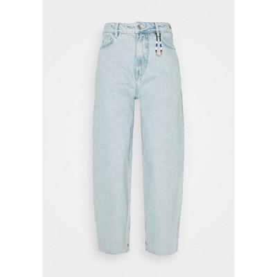 スコッチアンドソーダ デニムパンツ レディース ボトムス HIGH RISE BALLOON CRYSTALIZED IN TIME - Relaxed fit jeans - light-blue denim