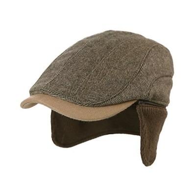 帽子 耳あて付きキャップ ハンチング帽子 ワークキャップ イヤーマフキャップ キャップ 作業帽子 メンズ レディース おしゃれ 秋冬 大きいサイズ ス