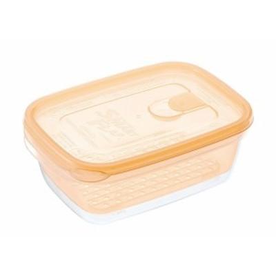 茹でうま野菜調理容器 角型 A-043(YO)    [7-0225-1201 6-0219-1101  ]