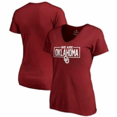 Fanatics Branded ファナティクス ブランド スポーツ用品  Fanatics Branded Oklahoma Sooners Womens Crimson We Are