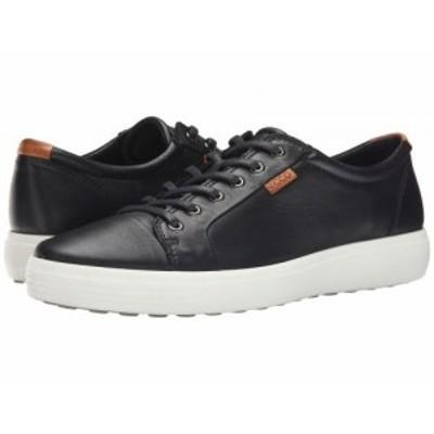 ECCO エコー メンズ 男性用 シューズ 靴 スニーカー 運動靴 Soft 7 Sneaker Black【送料無料】