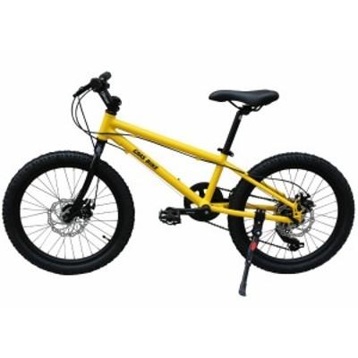 20インチ ジュニアマウンテンバイク シマノ6段変速ギア クロスバイク 軽量アルミフレーム 車体わずか10KG 子供自転車 6~13歳 キッズバイ