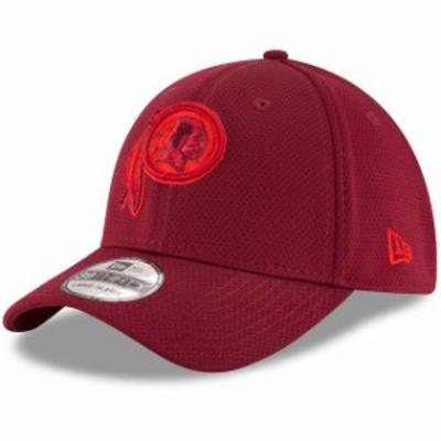 New Era ニュー エラ スポーツ用品  New Era Washington Redskins Burgundy Team Color Tone Tech Redux 39THIRTY Flex Hat