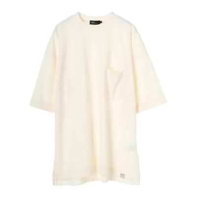 CRAFT STANDARD BOUTIQUE / 綿混ポンチプリント半袖ポケットTEE * MEN トップス > Tシャツ/カットソー