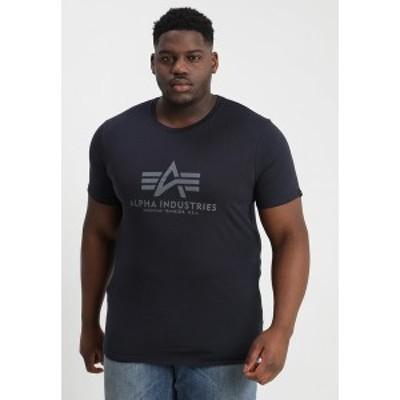 アルファインダストリーズ メンズ Tシャツ トップス BASIC CAMO - Print T-shirt - repl blue repl blue
