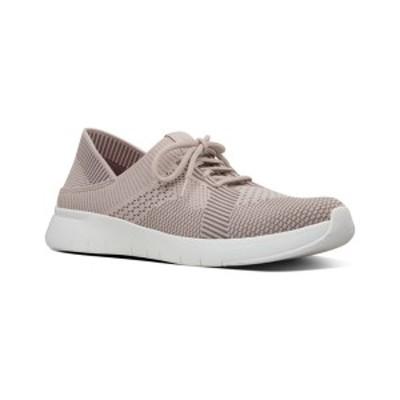フィットフロップ レディース サンダル シューズ FitFlop Marbleknit Sneaker mink/white nylon-mix knit