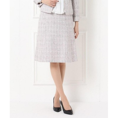 <UNTITLED(Women)/アンタイトル> ソフィアツィードスカート ピンク【三越伊勢丹/公式】