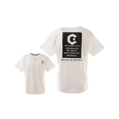 ジローム(GIRAUDM) 洗っても機能が続く UVカット 速乾 UV 吸汗速乾 半袖メッシュTシャツ 863GM1CD6667 WHT (メンズ)