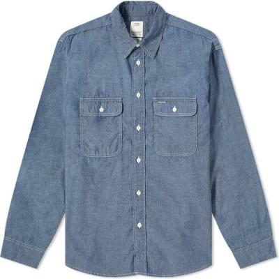 ビズビム Visvim メンズ シャツ シャンブレーシャツ トップス Albacore Lumber Chambray Shirt Indigo