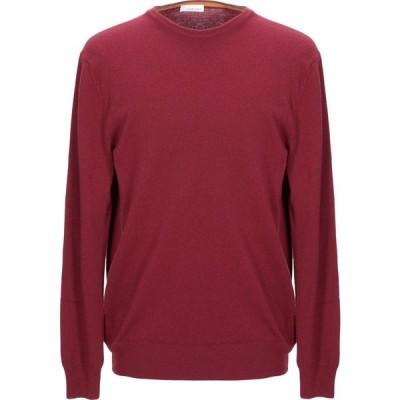 ヘリテイジ HERITAGE メンズ ニット・セーター トップス sweater Maroon
