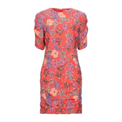 MAJE ミニワンピース&ドレス レッド 1 レーヨン 100% / ポリエステル ミニワンピース&ドレス