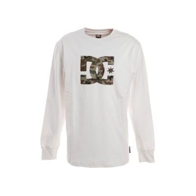 ディーシー・シュー(DC SHOE) Tシャツ メンズ 長袖 19 STAR クルーネック ロゴ 19FW5425J924WCM オンライン価格 (メンズ)