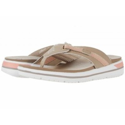 SKECHERS スケッチャーズ レディース 女性用 シューズ 靴 サンダル Intergrades Brighter Days Taupe/Peach【送料無料】