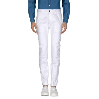 ディースクエアード DSQUARED2 パンツ ホワイト 44 97% コットン 3% ポリウレタン パンツ