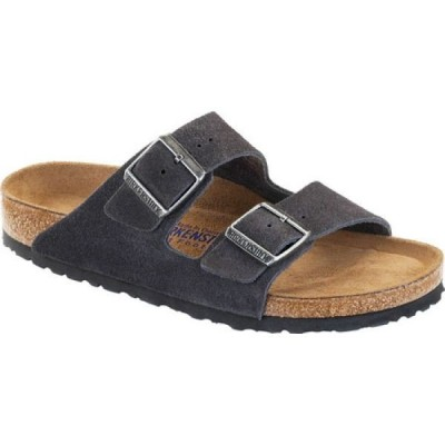 ビルケンシュトック Birkenstock メンズ サンダル シューズ・靴 Arizona Suede with Soft Footbed Velvet Gray Suede with Soft Footbed