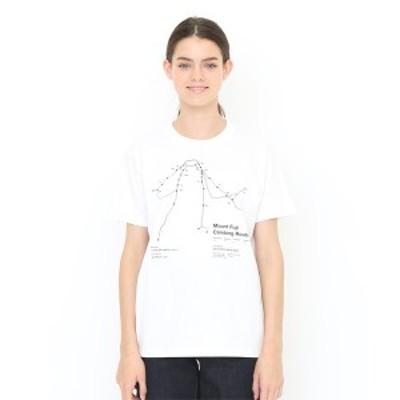 グラニフ(graniph)/【ユニセックス】コラボレーションTシャツ/クライミング ルート (YAMAP)