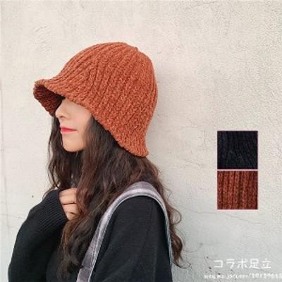 新作 送料無料 帽子 超かわいい 小顔効果 レディース 柔らかニット帽 カジュアル 柔らかい軽くて暖かいハット  ゆるふわ