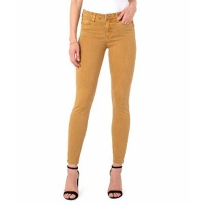 リバプール レディース デニムパンツ ボトムス Abby Skinny Jeans in Toasted Wheat Toasted Wheat