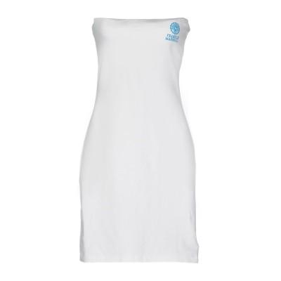 フランクリン & マーシャル FRANKLIN & MARSHALL ミニワンピース&ドレス ホワイト M コットン 95% / ポリウレタン 5%