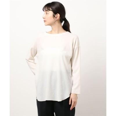 tシャツ Tシャツ Washiableストレッチジョーゼットプルオーバー