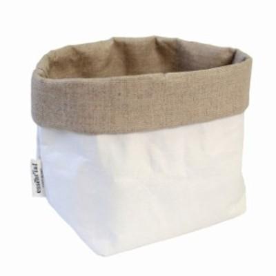 essent'ial(エッセンシャル) サッキーノPL、ホワイト+リネン IL SACCHINO PL (イタリア製 水に強い 洗濯可能 調味料収納 冷