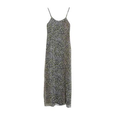 FLOOR ロングワンピース&ドレス ブラック M ポリエステル 100% ロングワンピース&ドレス