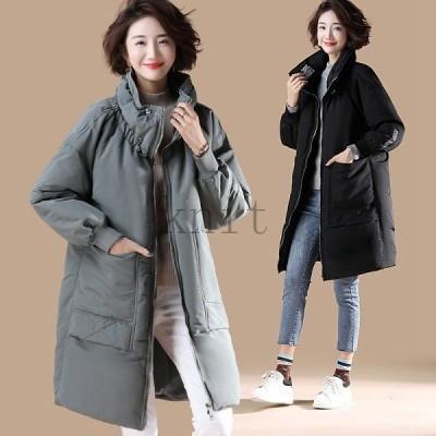 ジャケットレディース冬40代50代アウター中綿ジャンパー大きいサイズおしゃれブルゾン2957