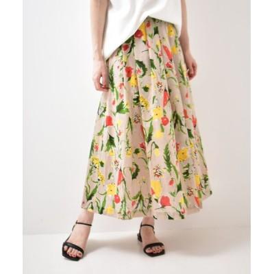 le.coeur blanc / ビッグフラワーギャザースカート WOMEN スカート > スカート