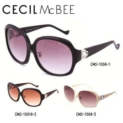 セシルマクビー サングラス CECIL McBEE CMS1004-1/CMS1004-2/CMS1004-3 度付き対応
