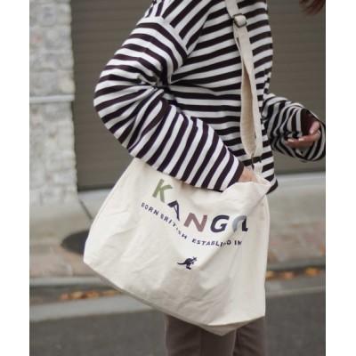 RiNc / 【 KANGOL / カンゴール 】 カンゴール キャンバス トートバッグ WOMEN バッグ > トートバッグ