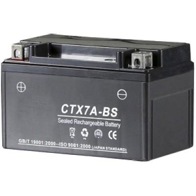 【メーカー在庫あり】 100601 NBS バイクパーツセンター 液入り充電済バッテリー CTX7A-BS HD店