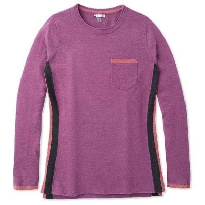 スマートウール Smartwool レディース ニット・セーター トップス Shadow Pine Pocket Sweater Sangria Heather