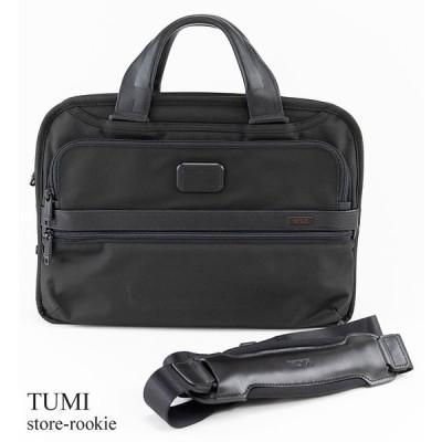 TUMI トゥミ ビジネスバッグ アウトレット トリプル コンパートメント ブリーフ Triple Compartment Brief 026115D2/ブラック