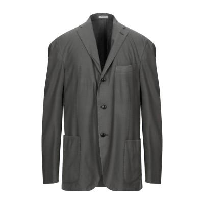 ボリオリ BOGLIOLI テーラードジャケット 鉛色 54 ウール 100% テーラードジャケット
